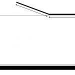"""אמבטיון שחור ג'קסון S,בגימור שקוף 120 ס""""מ"""