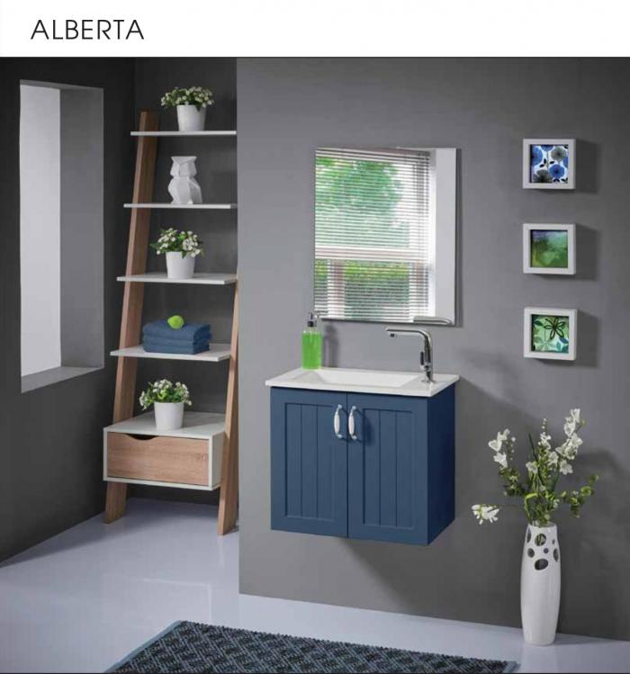 """ארון אמבטיה תלוי אלברטה 55 ס""""מ"""