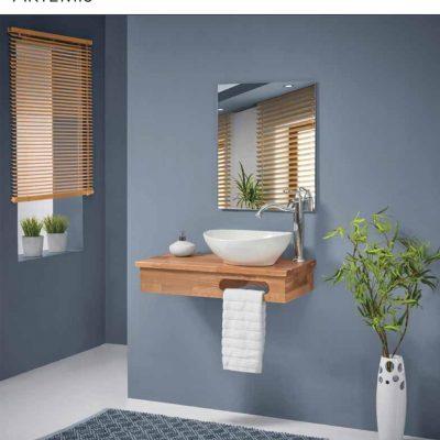 ארון אמבטיה תלוי ארטמיס לפי מידה