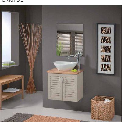 """ארון אמבטיה תלוי בריסטול 55 ס""""מ"""
