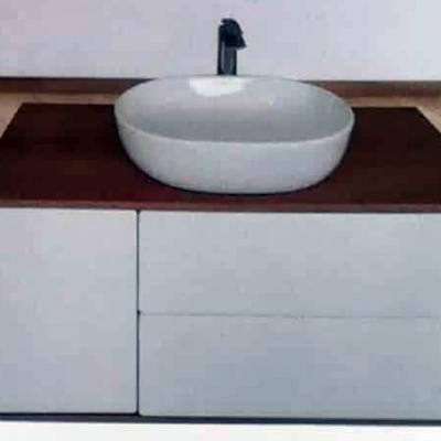 """ארון אמבטיה תלוי אפוקסי גידין 100 ס""""מ"""