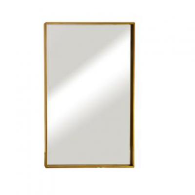 """מראה ונוס מסגרת זהב, 80/60 ס""""מ"""