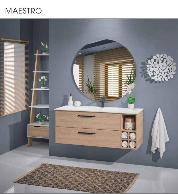 """ארון אמבטיה תלוי פורמייקה 100 ס""""מ מאסטרו"""