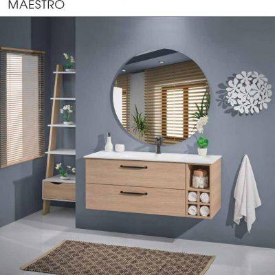"""ארון אמבטיה תלוי פורמייקה 120 ס""""מ מאסטרו"""