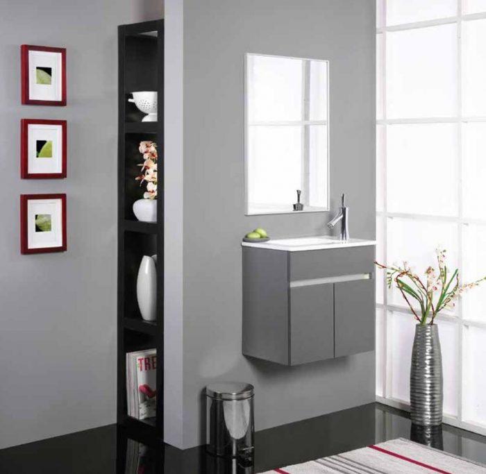 """ארון אמבטיה תלוי פיקולו 55 ס""""מ"""