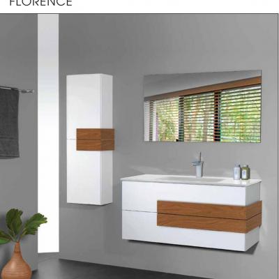 """ארון אמבטיה תלוי אפוקסי 60 ס""""מ פלורנס"""