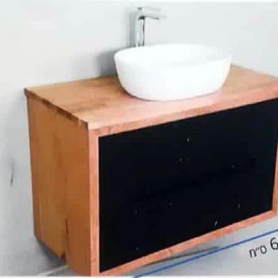 """ארון אמבטיה תלוי אפוקסי קורן 90-100 ס""""מ"""