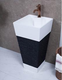 כיור אמבטיה עומד דגם wb-08809BW