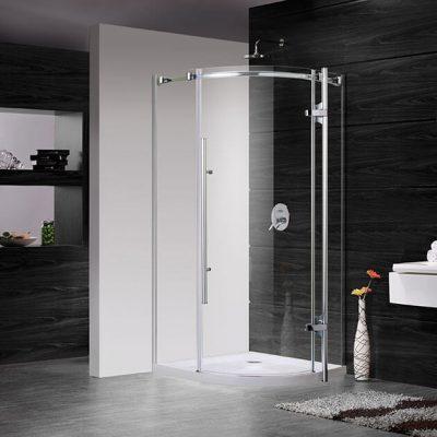 מקלחון פינתי נפתח אונדה דלת על ציר
