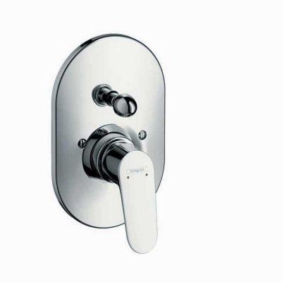 כיסוי חיצוני 4 דרך בלבד למקלחת מסדרת פוקוס E2 hansgrohe