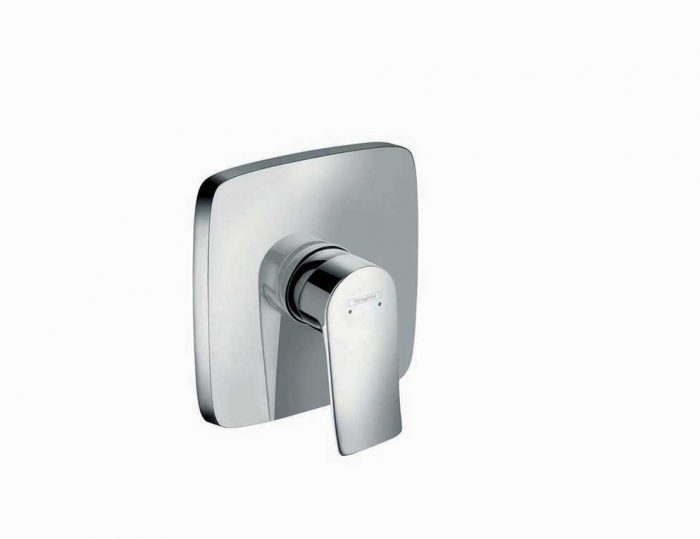 כיסוי חיצוני בלבד למקלחת , מסדרת מטריס עם ידית מלאה hansgrohe