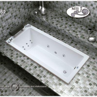 אמבטיה אקרילית מלבנית 170*70