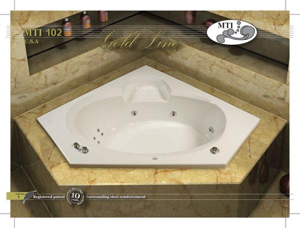 אמבטיה אקרילית 150*150