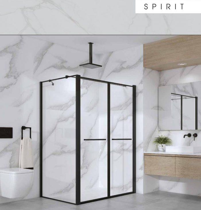 מקלחון פינתי ספיריט