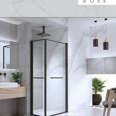 מקלחון פינתי רוז