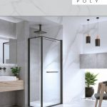 מקלחון פינתי פולי