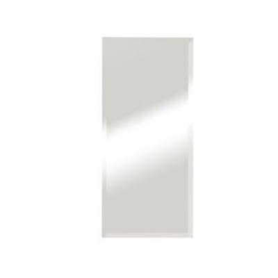 """מראה קריסטל מלבנית למערכת טופז 80/40 ס""""מ"""