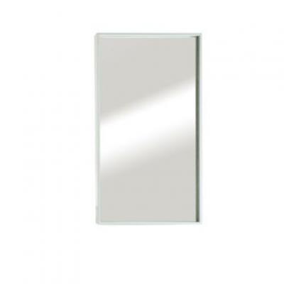 """מראה ונוס מסגרת לבנה, 80/40 ס""""מ"""