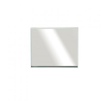 """מראה ונוס מסגרת לבנה, 80/60 ס""""מ"""