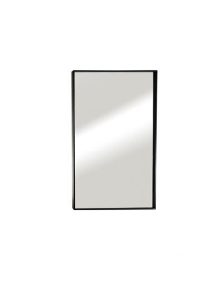 """מראה ונוס מסגרת שחורה 100/60 ס""""מ"""