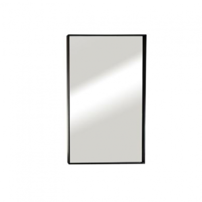 """מראה ונוס מסגרת שחורה 80/60 ס""""מ"""