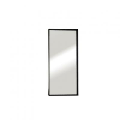 """מראה ונוס מסגרת שחורה, 80/40 ס""""מ"""