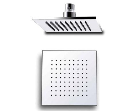 ראש מקלחת מרובע פליז