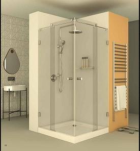 מקלחון פינתי CNC