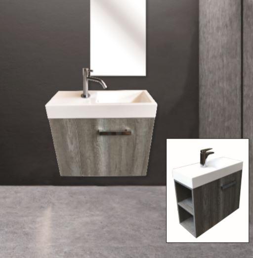 """ארון אמבטיה תלוי אפוקסי ונציה 60 ס""""מ"""