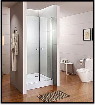 מקלחון חזית נפתח נופר דלתות ציר