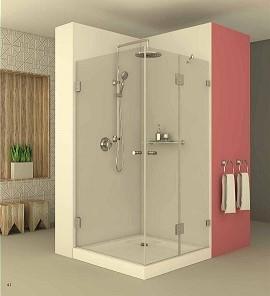 מקלחון פינתי רומא 604