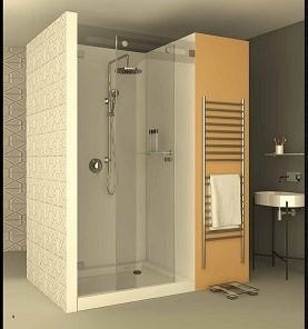 מקלחון חזית CNC אליאנו 200