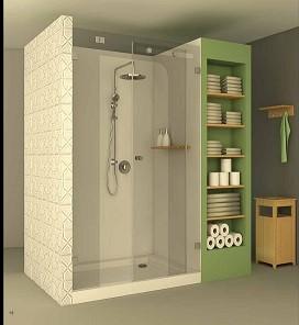 מקלחון חזית CNC אליאנו 202