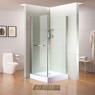 מקלחון פינתי 2 דלתות מלבורן