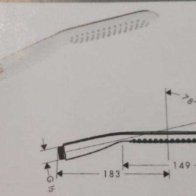 מזלף 120 מאורך סד' puravida
