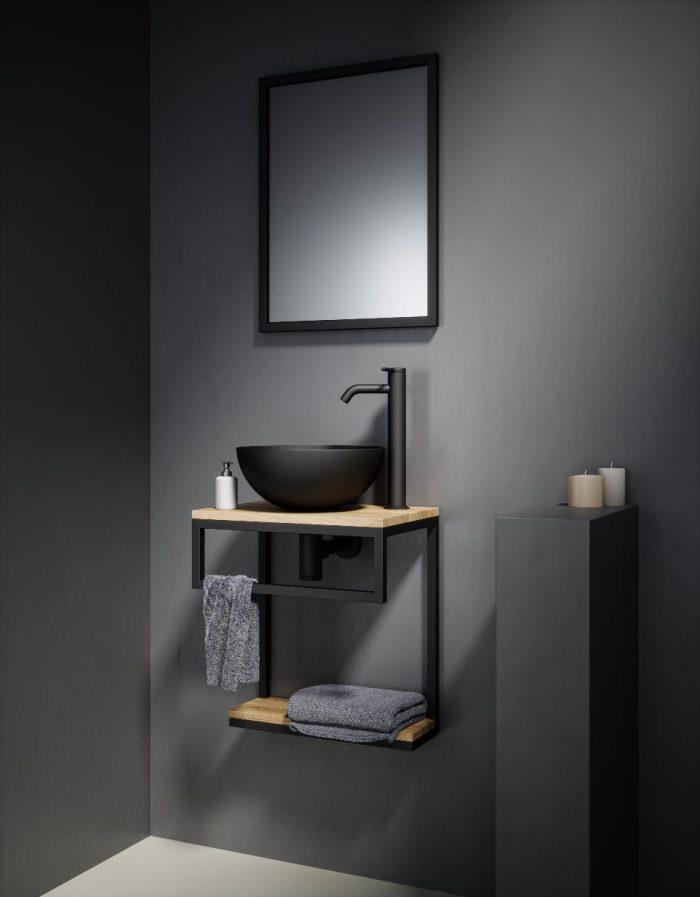 """ארון אמבטיה תלוי רוני 45 ס""""מ"""