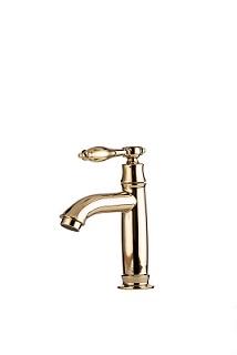 ברז פרח מים קרים זהב מבריק 1338