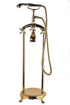 סוללה ויולט ענתיק לאמבטיה 8200 זהב מבריק
