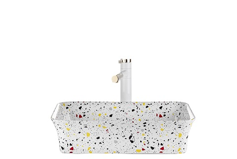 כיור חרס מונח לאמבטיה מעוצב 8224