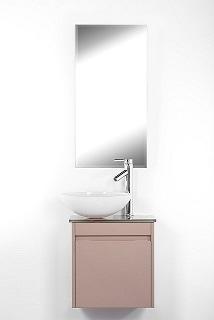 """ארון אמבטיה תלוי סדרת יהלום 45 ס""""מ אפור מבריק"""