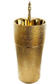 כיור עומד זהב 9504