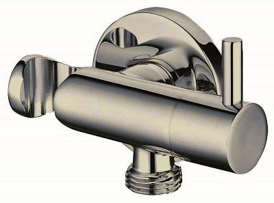 ברז ניתוק למתיזן כולל תפס ונקודת מים ברונזה צהובה