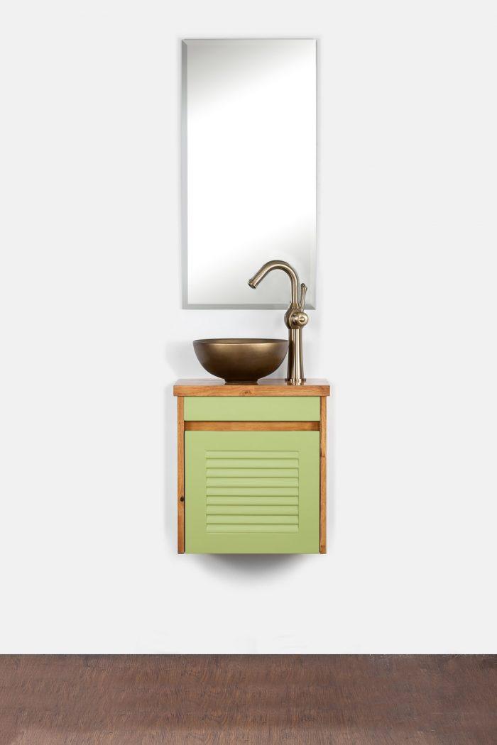 """ארון אמבטיה תלוי סדרת שהם 43/25 ס""""מ"""