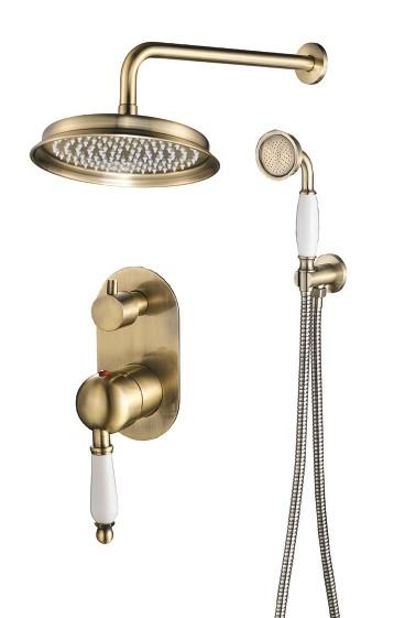סט לאמבטיה אינטרפוץ 4 דרך ברונזה