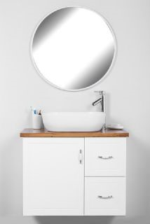 """ארון אמבטיה תלוי טורינו 80/47 ס""""מ"""