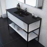 """ארון אמבטיה עומד רומא 100 ס""""מ אפוקסי"""