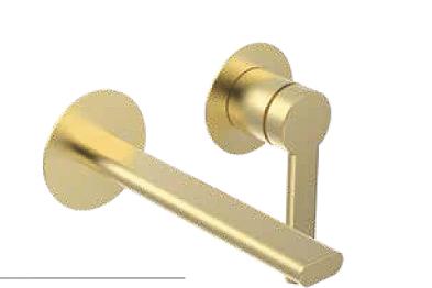 ברז קיר לאמבטיה זהב מט B16 PEZZI איטליה