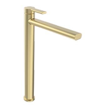 ברז אמבטיה גבוה B16 זהב מט PEZZI איטליה