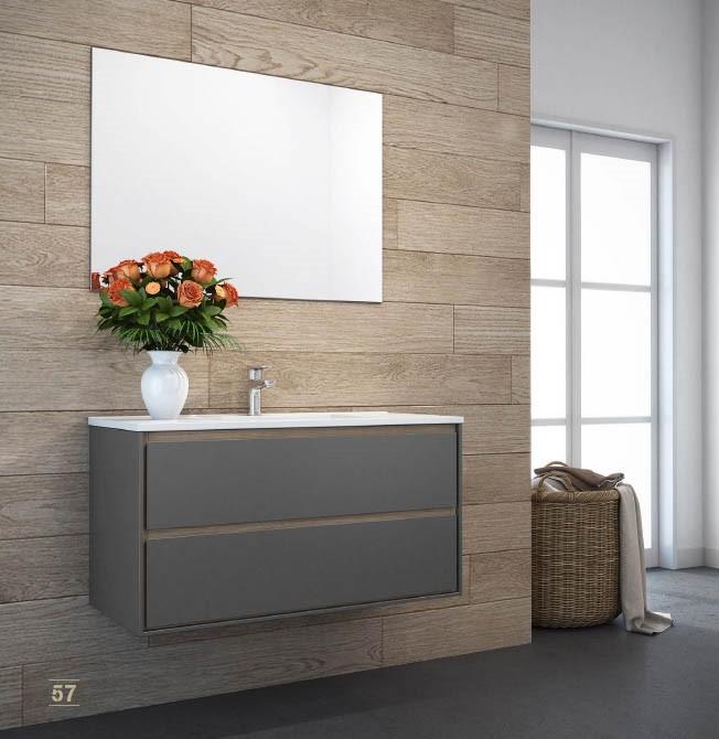 """ארון אמבטיה תלוי CAPRI 80 ס""""מ אפוקסי"""