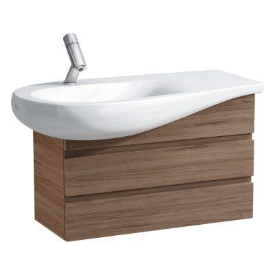 """ארון אמבטיה תלוי לכיור 90 ס""""מ ALESSI ONE LAUFEN"""